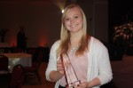 DEREK THOMSON SHEELY LEADERSHIP AWARD PRESENTED TO JACLYN FRANZAK